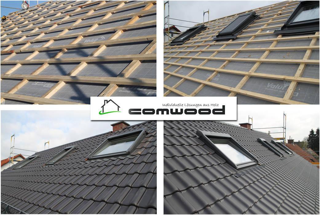 Dachflächenfenster VELUX:  Satteldach von COMWOOD | Individuelle Lösungen aus Holz,Klassisch