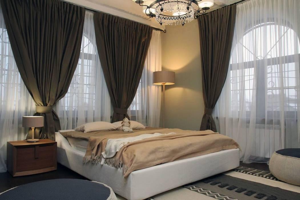 Eclectic style bedroom by Irina Yakushina Eclectic