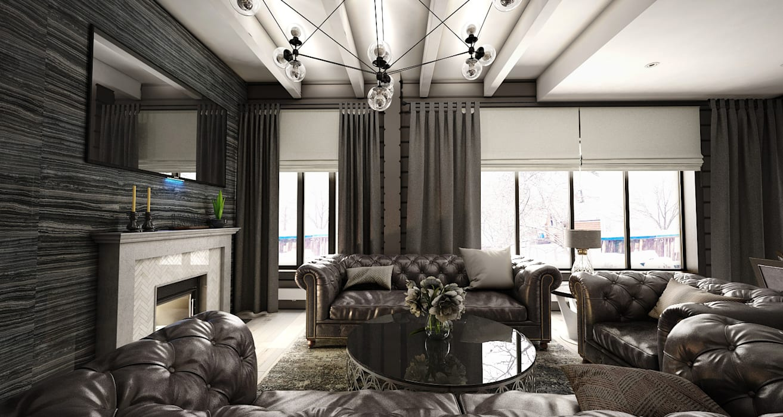 Дом-баня: Бани в . Автор – Студия Aрхитектуры и Дизайна 'Aleksey Marinin', Эклектичный Дерево Эффект древесины