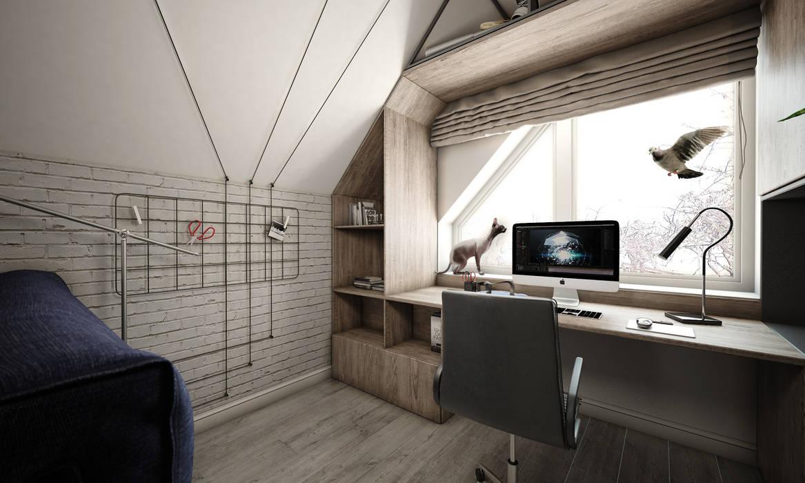 Boys Bedroom by Студия Aрхитектуры и Дизайна 'Aleksey Marinin',