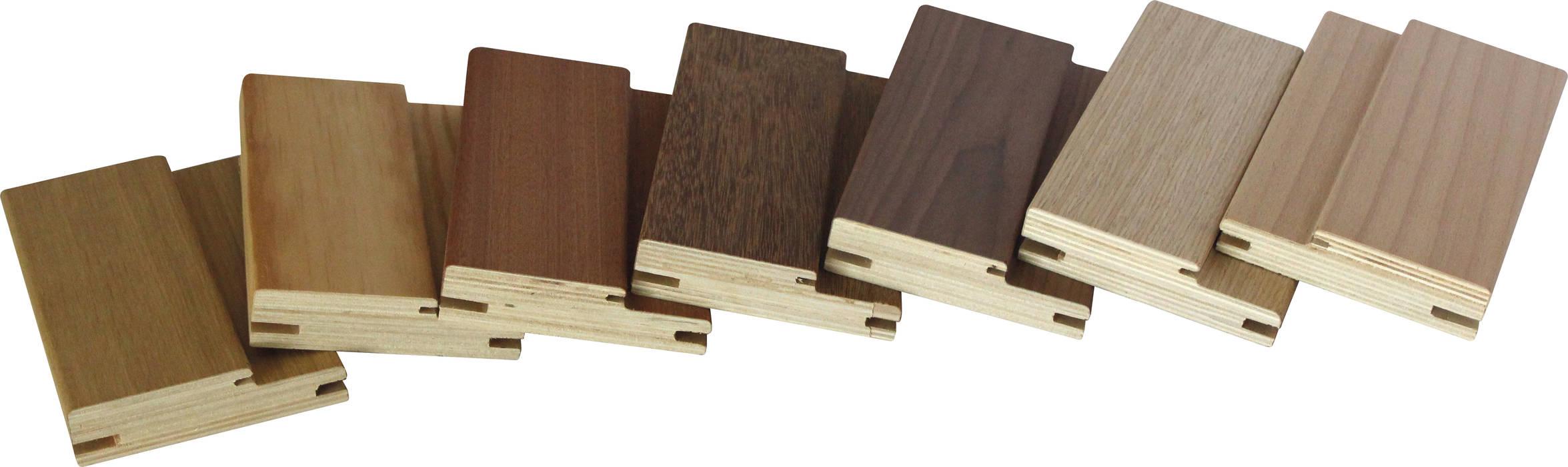 Aros espessura 25 contraplacados de madeira de bétula por Grupo Corpe® Moderno Contraplacado