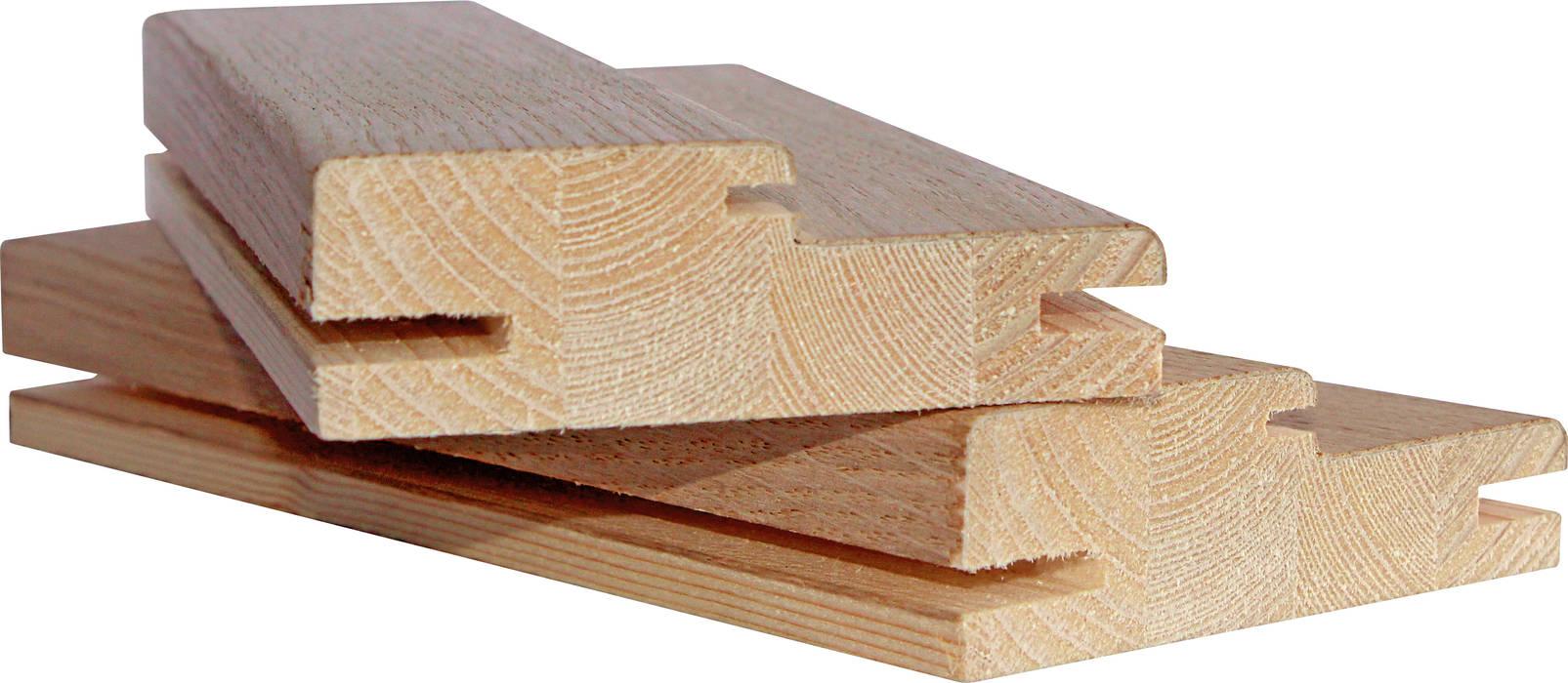 Aros espessura 25 lamelados de madeira, folheados/recobertos por Grupo Corpe® Moderno Madeira Acabamento em madeira
