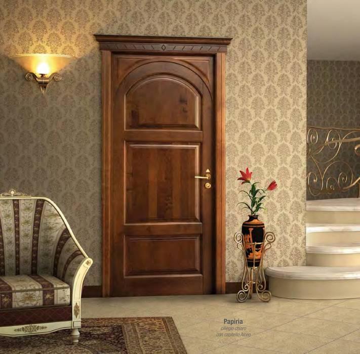 pintu kayu oleh AM PORTE SAS, Klasik