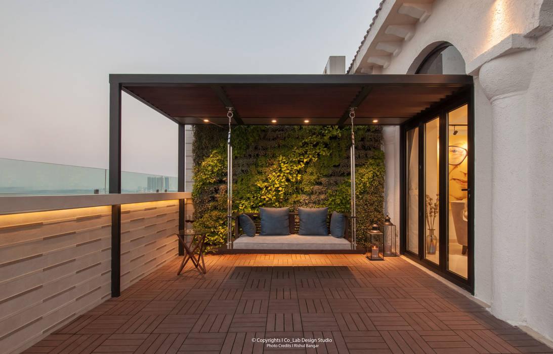 Terrace:  Terrace by co_LAB Design Studio,Modern