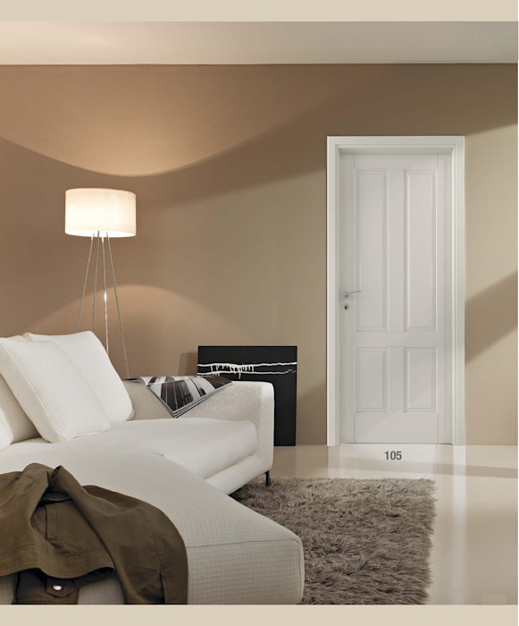 Wooden doors by AM PORTE SAS,