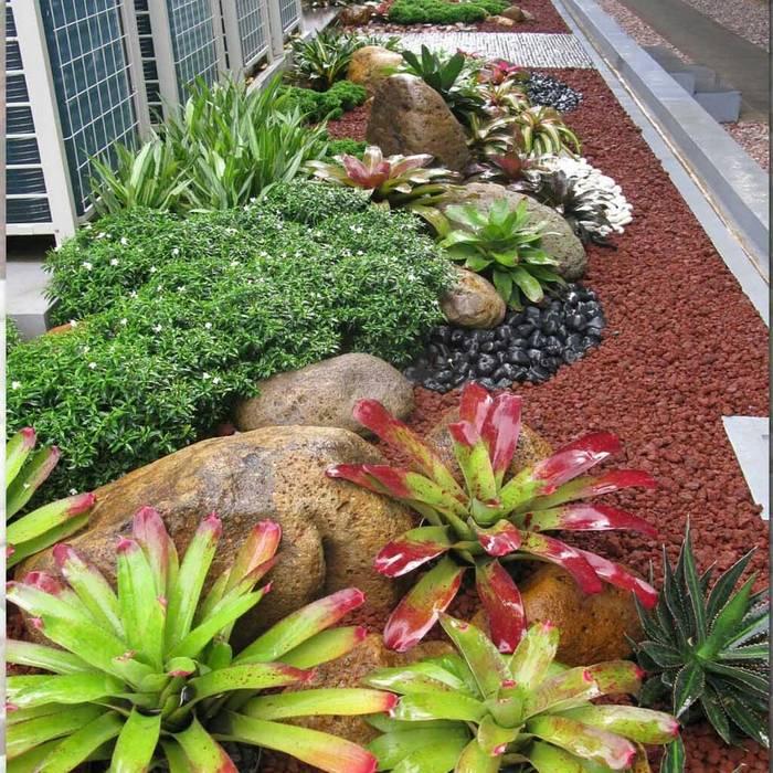 Taman Kering (Dry Garden): Gedung perkantoran oleh Gardener Landscape, Minimalis