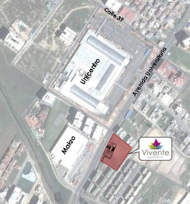 Vivente - Tunja de GONZALEZ & LEON ARQUITECTOS SAS Moderno Ladrillos
