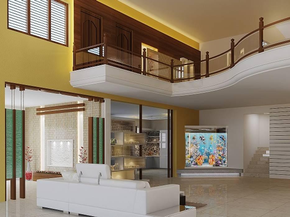 Balcón de estilo  por Blueskyconcepts1, Moderno Caliza