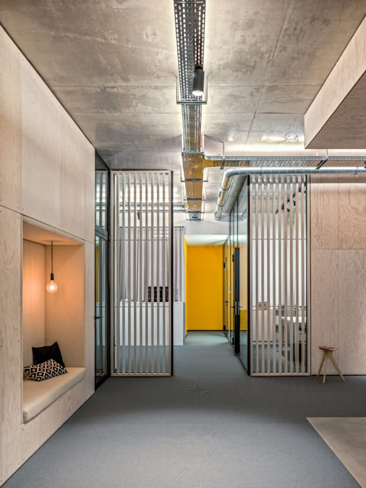 Offices & stores by boehning_zalenga  koopX architekten in Berlin, Industrial