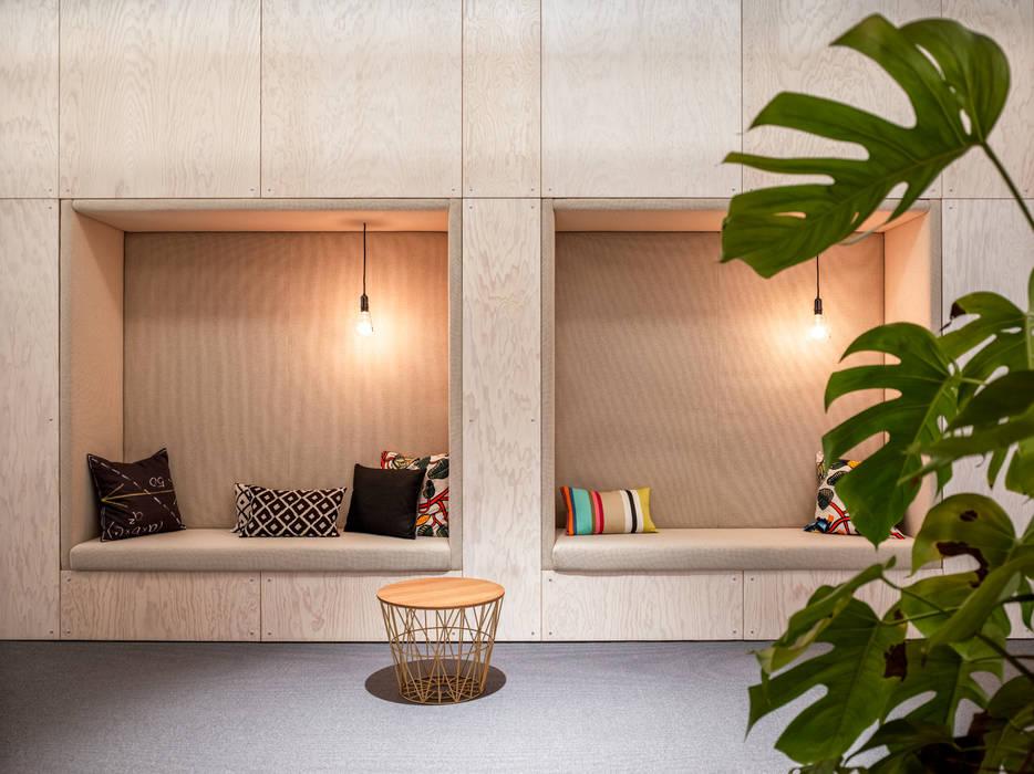 Kantor & Toko Gaya Industrial Oleh boehning_zalenga koopX architekten in Berlin Industrial