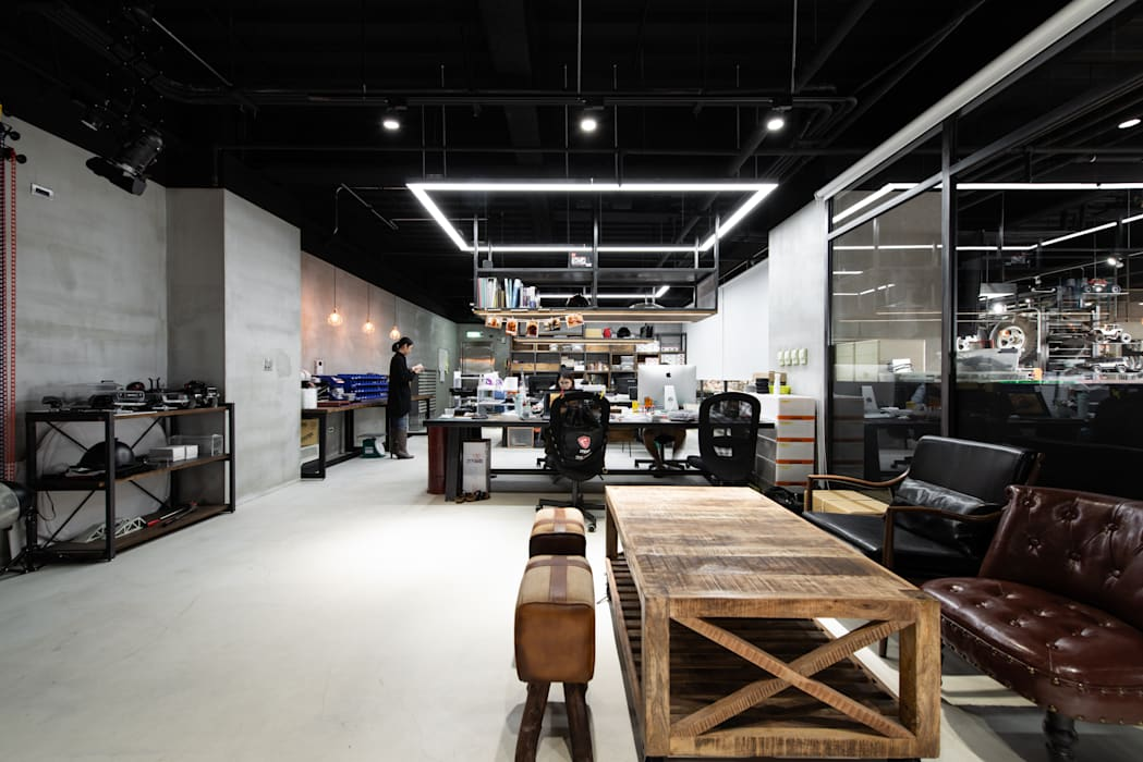 Offices & stores توسطNO5WorkRoom, صنعتی