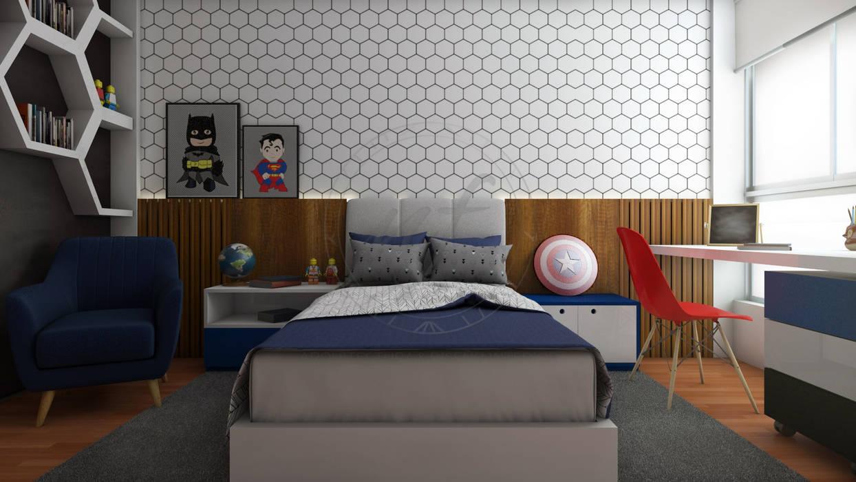 Proyecto arredondo dormitorios de estilo por nf dise o de - Proyecto diseno de interiores ...