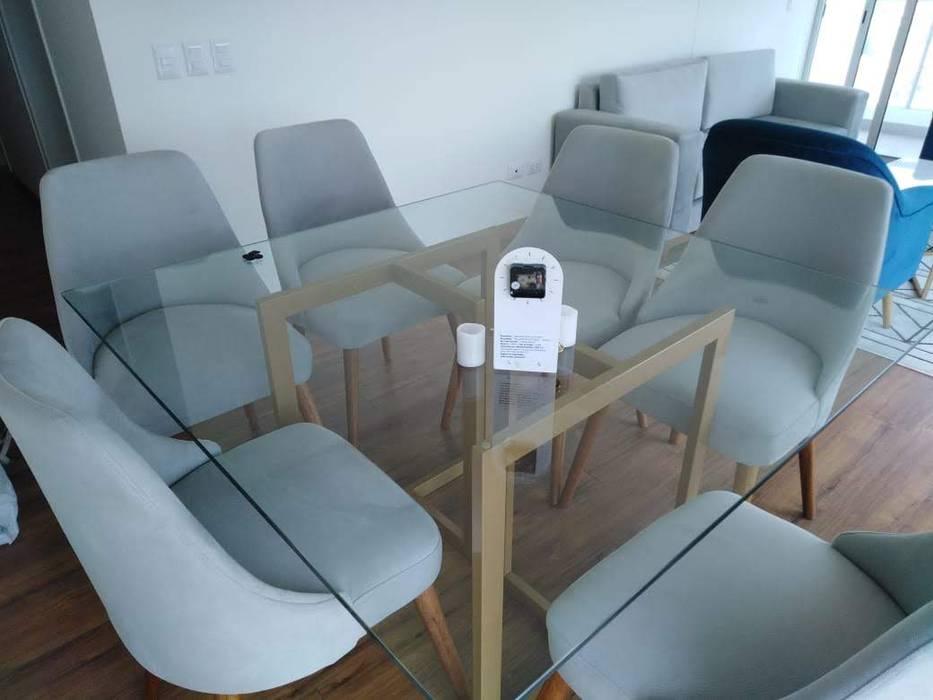Juego de Comedor NF Diseño de Interiores Comedores de estilo moderno