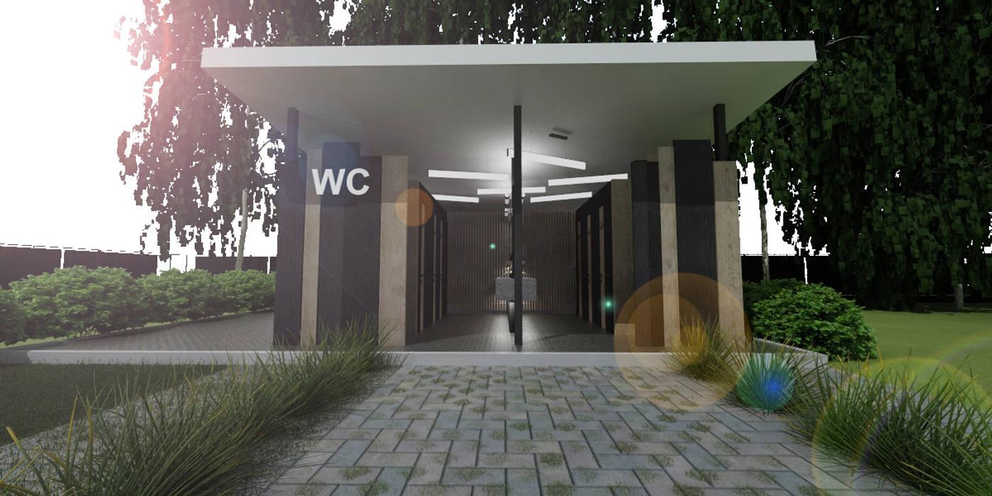Casas ecológicas de estilo  por Студия Aрхитектуры и Дизайна 'Aleksey Marinin', Ecléctico Derivados de madera Transparente