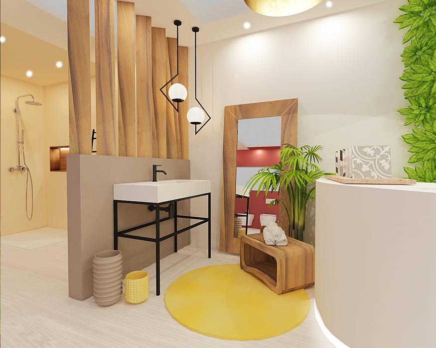 Minimalistische badkamers van Smile Bath S.A. Minimalistisch