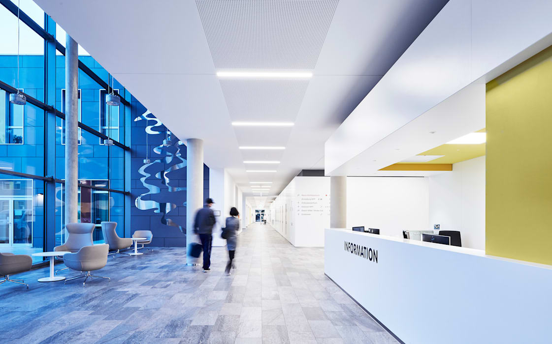 Universitätsklinikum Bonn - NPP Moderne Krankenhäuser von HDR GmbH Modern