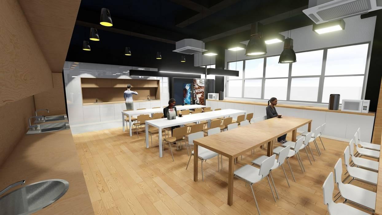 Minimalist gastronomy by 2arch architektura Minimalist Wood Wood effect