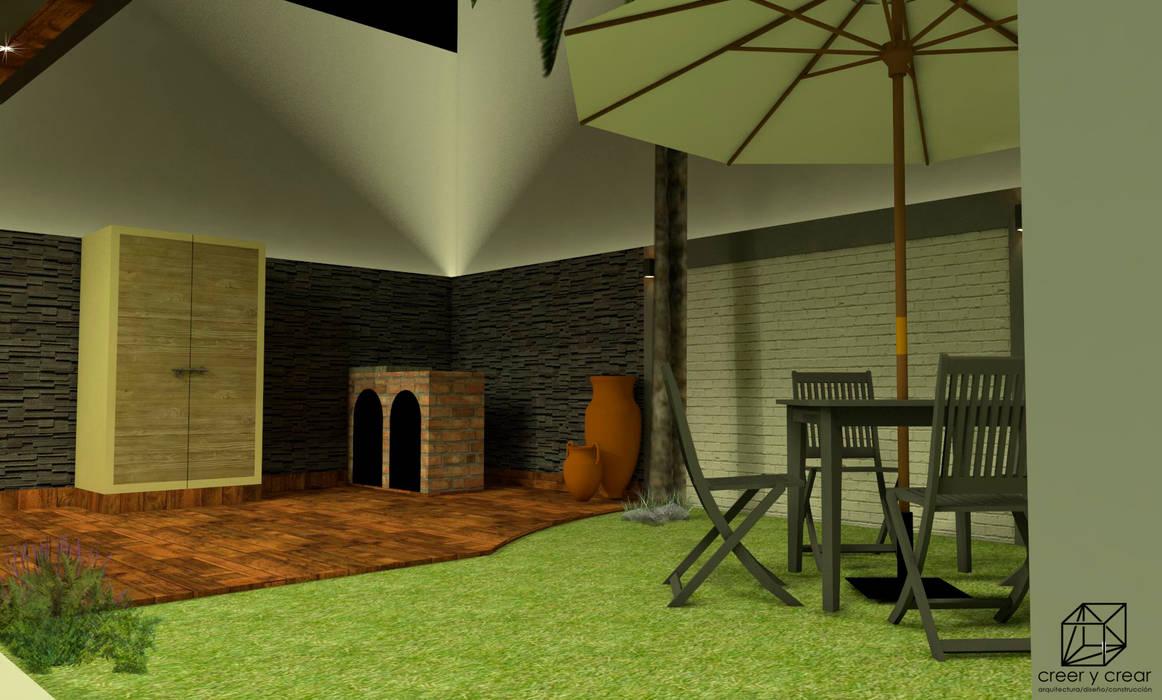 Rock Garden by Creer y Crear. Arquitectura/Diseño/Construcción, Eclectic