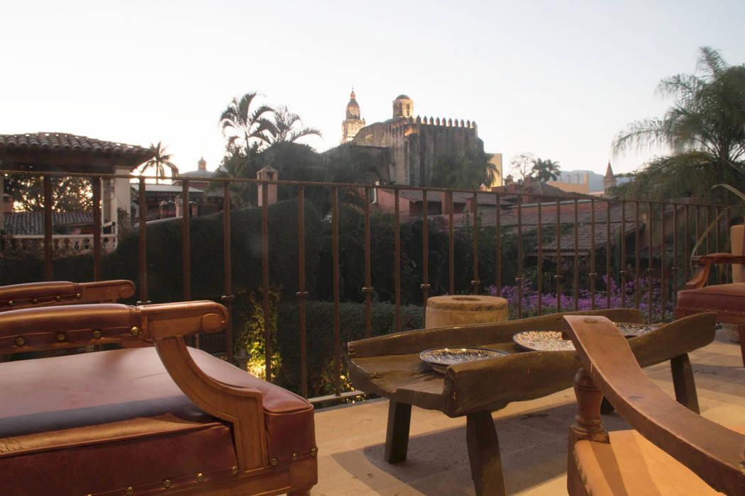 Casa Chica De Cortes At Arquitectos Balcones Y Terrazas