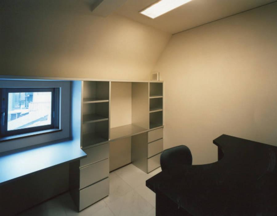 フラッツS モダンデザインの 書斎 の 西島正樹/プライム一級建築士事務所 モダン