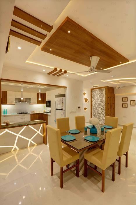 Residential Home Interior Modern dining room by RAK Interiors Modern