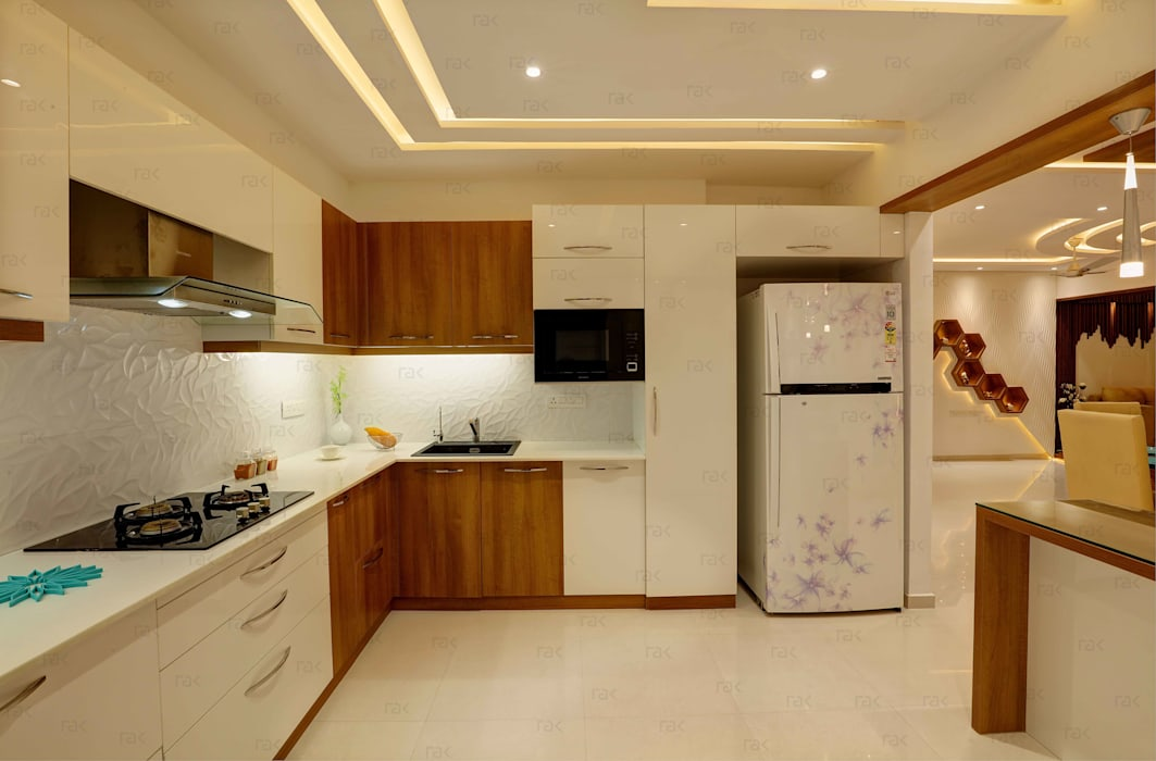 Residential Home Interior by RAK Interiors Modern