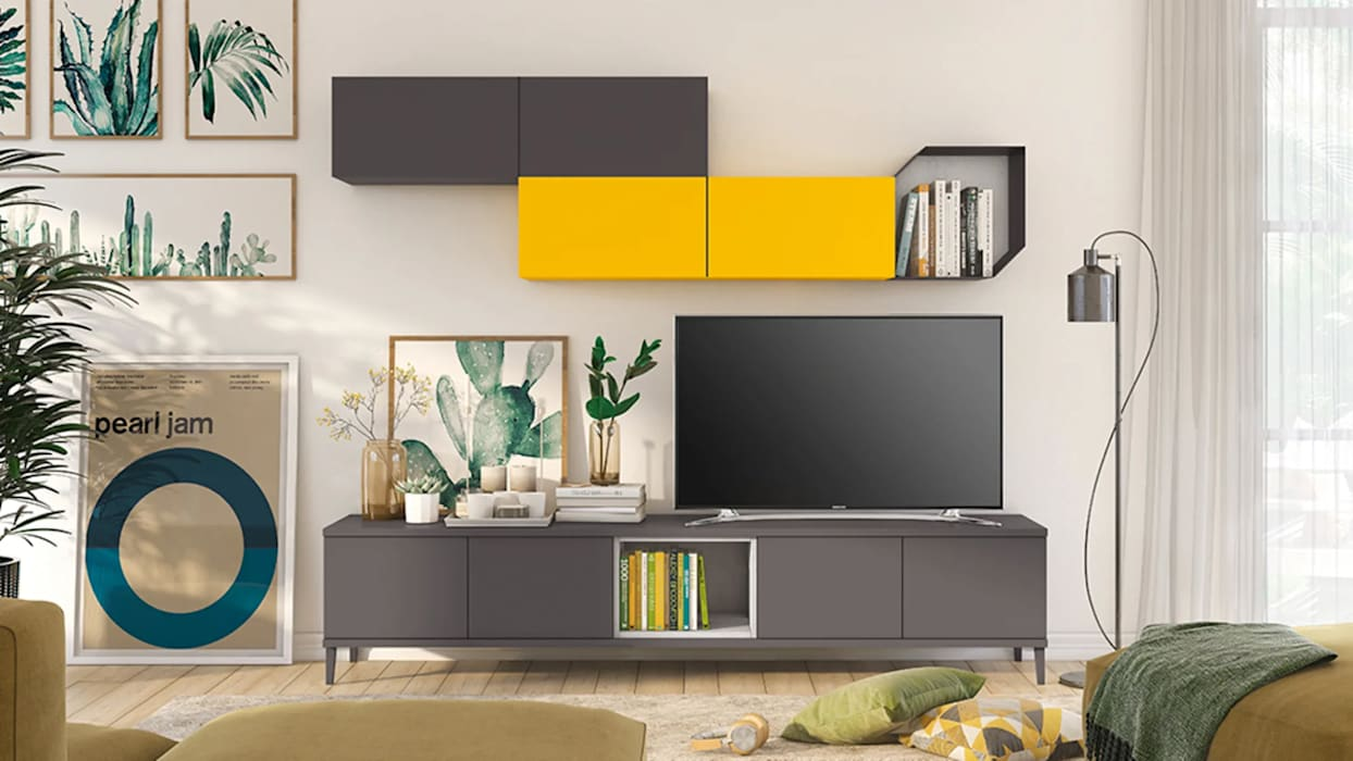 Minimalist living room by nuovimondi di Flli Unia snc Minimalist