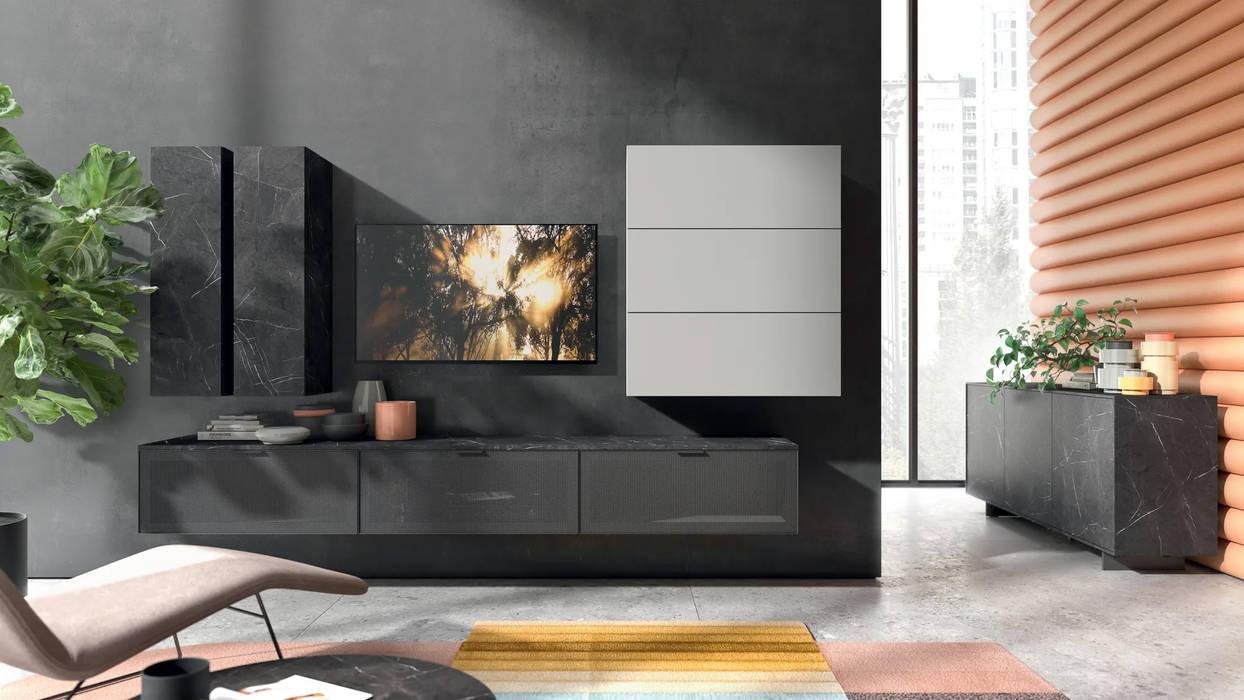 Soggiorni moderni design made in italy: soggiorno in stile ...