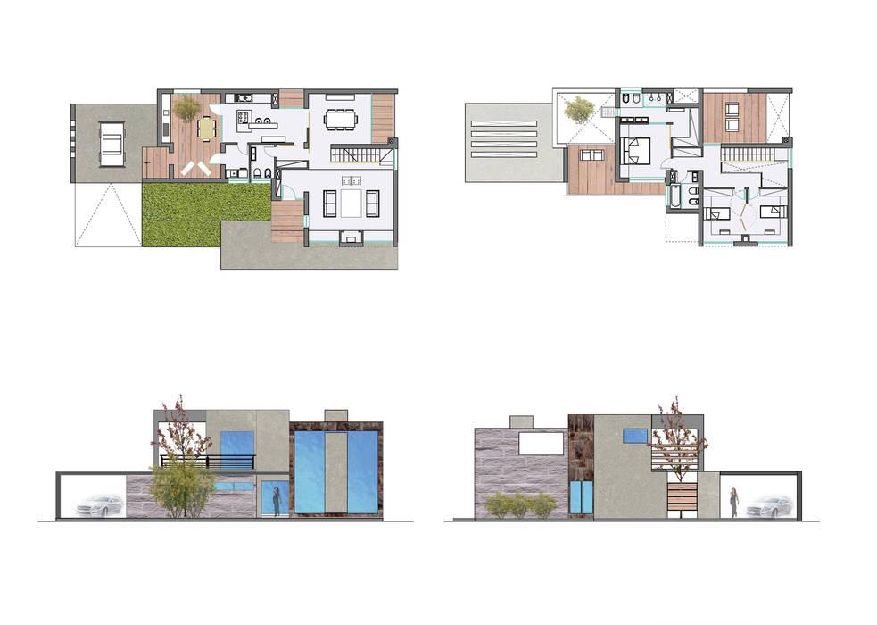 Tekeningen van MEF Architect