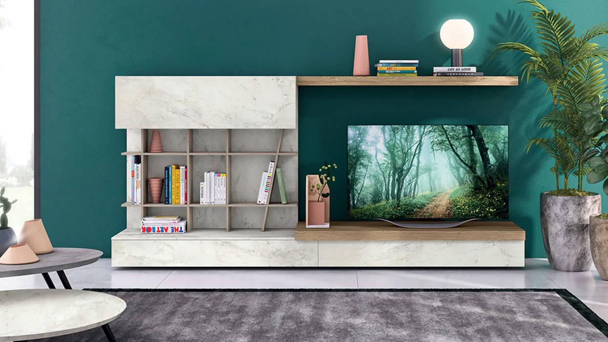 Soggiorni moderni design made in italy: soggiorno in stile di ...
