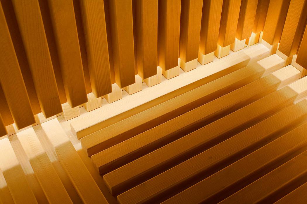 Çilek Spa Design Saunas Madera Acabado en madera
