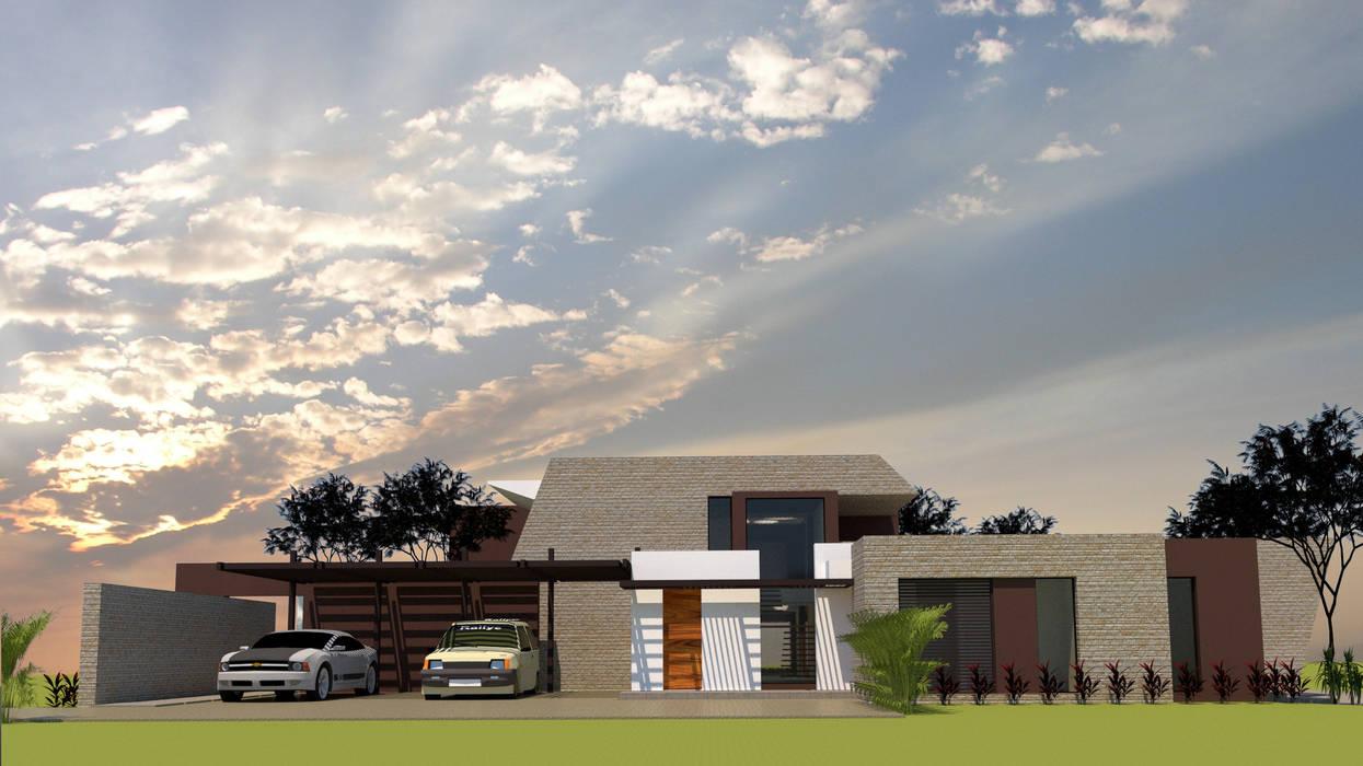 Detached home by diseño con estilo ... sas