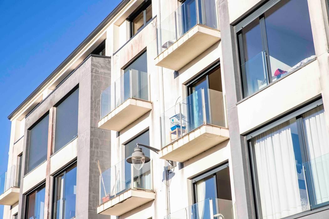 par Trenta Casas Prefabricadas de Hormigón en Madrid Moderne Béton