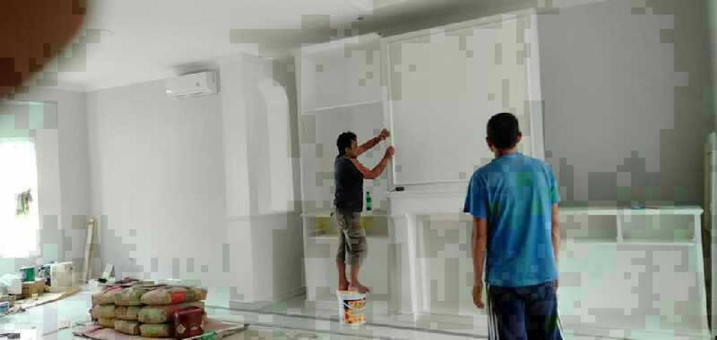 Pembuatan Kitchen Set:  Dapur built in by Harade  Interior