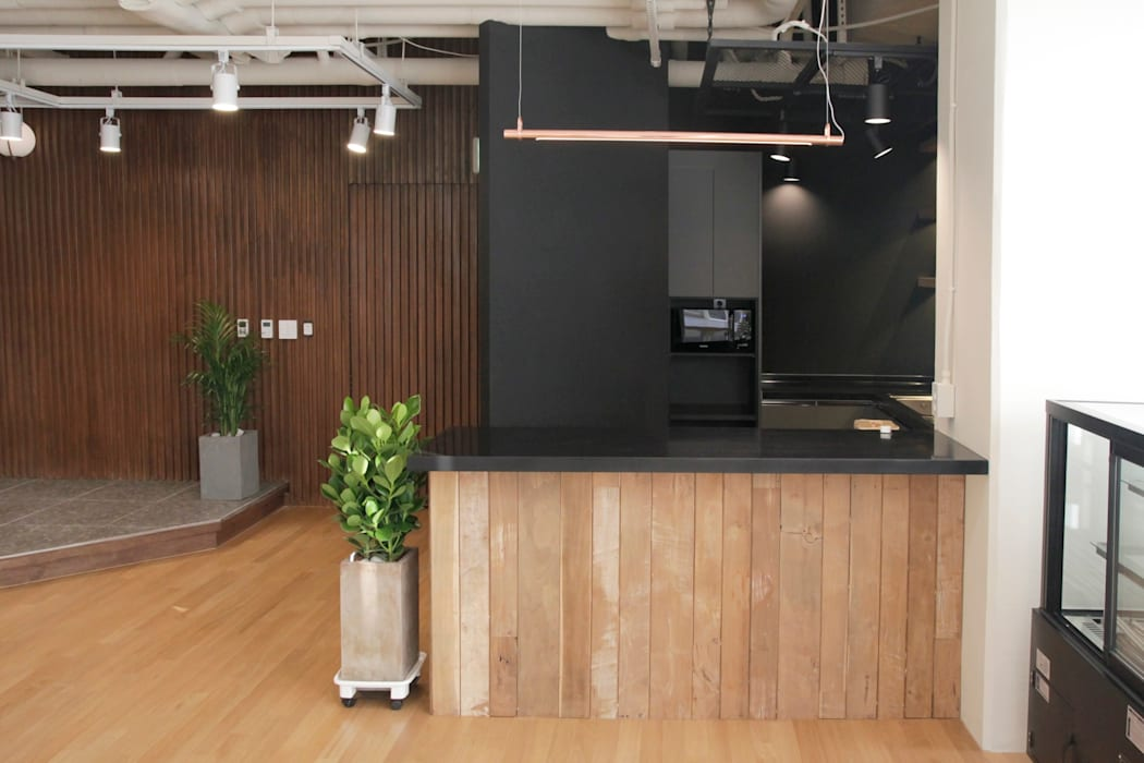 LH 판교제2테크노밸리 기업성장센터, 내추럴 컨셉 오피스 인테리어: 그리다집의