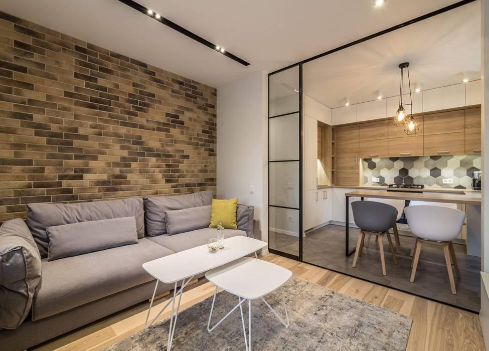 Дизайн гостиной : Гостиная в . Автор – VAKULENKODESIGN