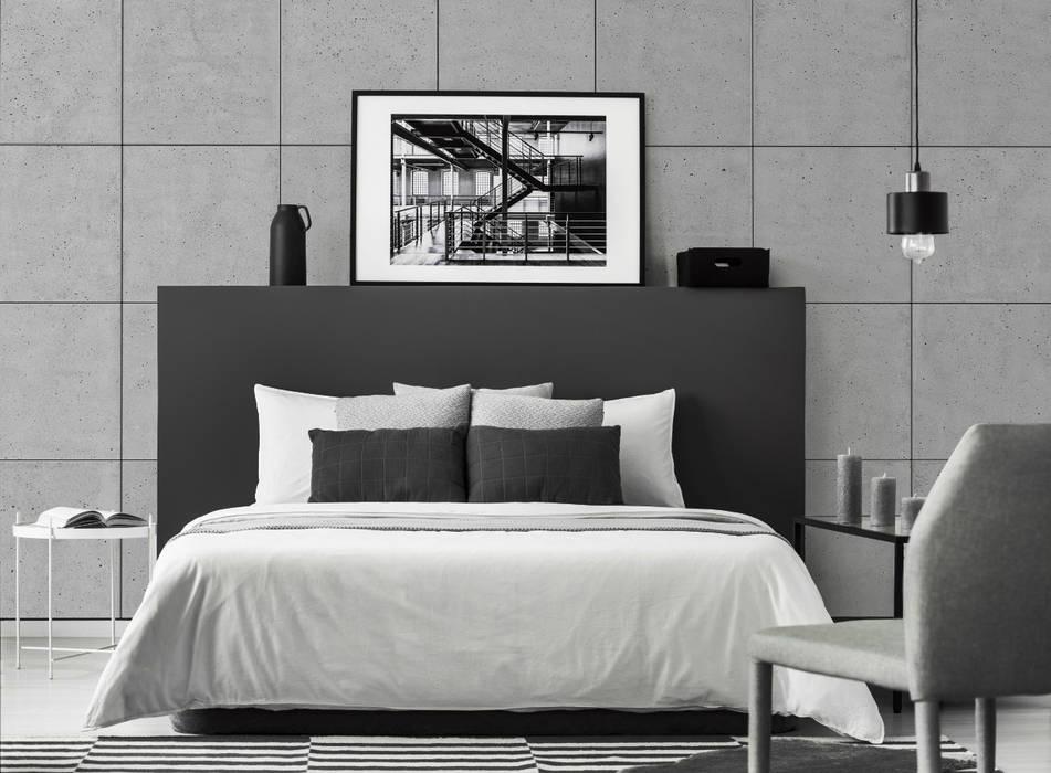Small bedroom by Loft Design System Deutschland - Wandpaneele aus Bayern