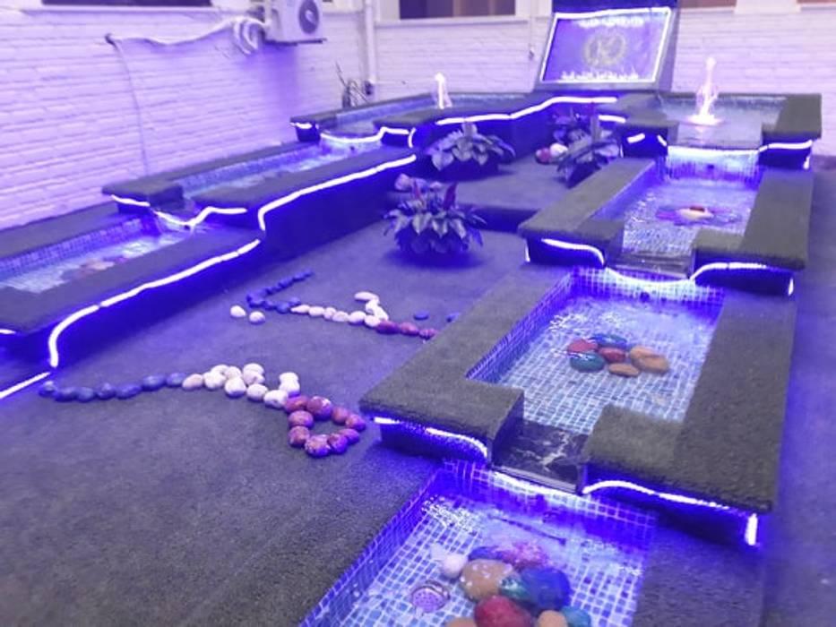 نوافير و شلالات من حمامات سباحة ايجي سويم بحر أبيض متوسط