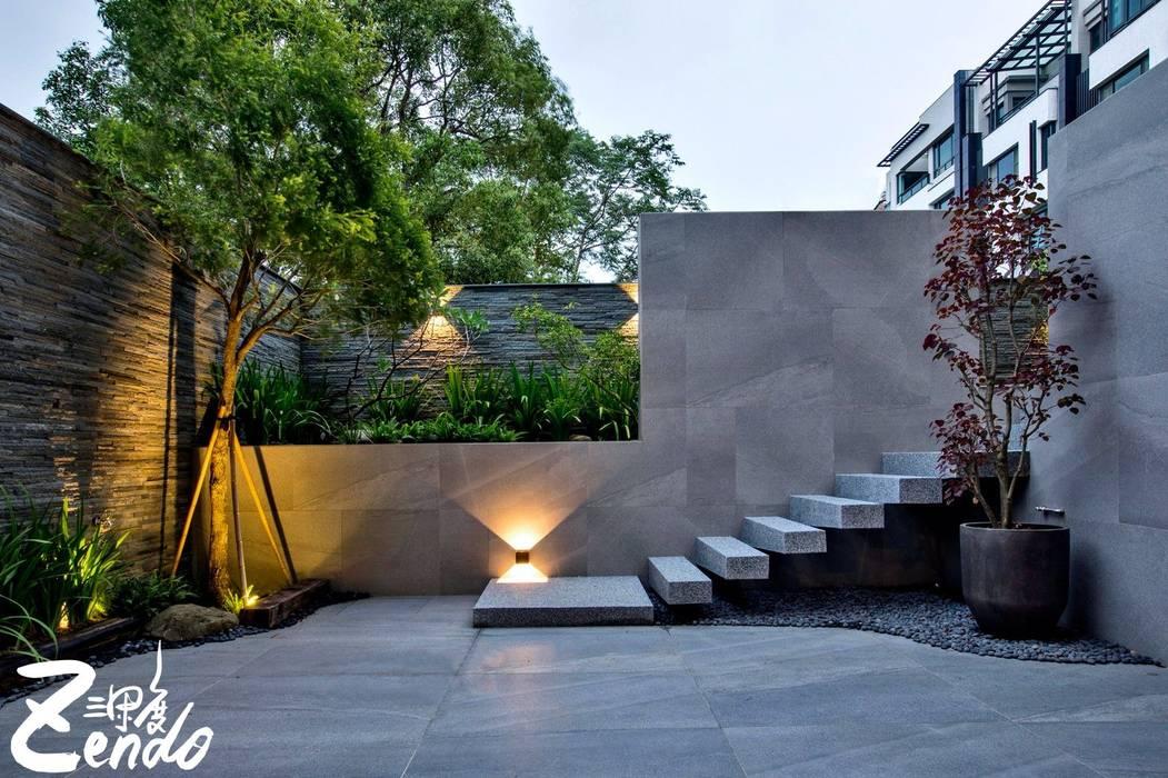 夏木漱石:  庭院 by Zendo 深度空間設計,