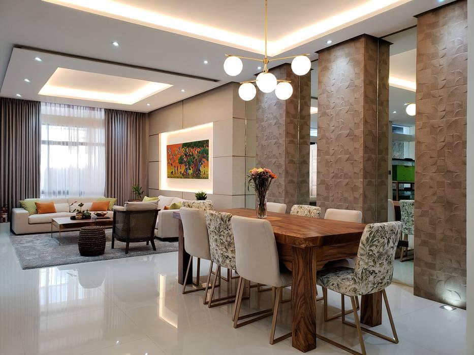 Dining room by Geraldine Oliva