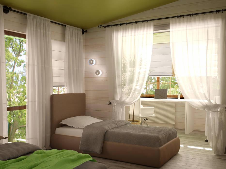Habitaciones de niñas de estilo  de Irina Yakushina