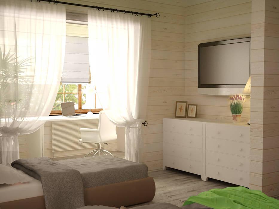 Dormitorios infantiles de estilo  de Irina Yakushina