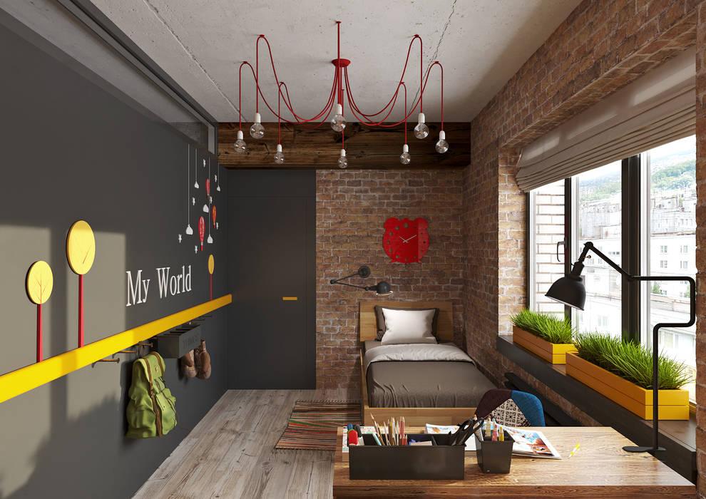 Boys Bedroom by Irina Yakushina