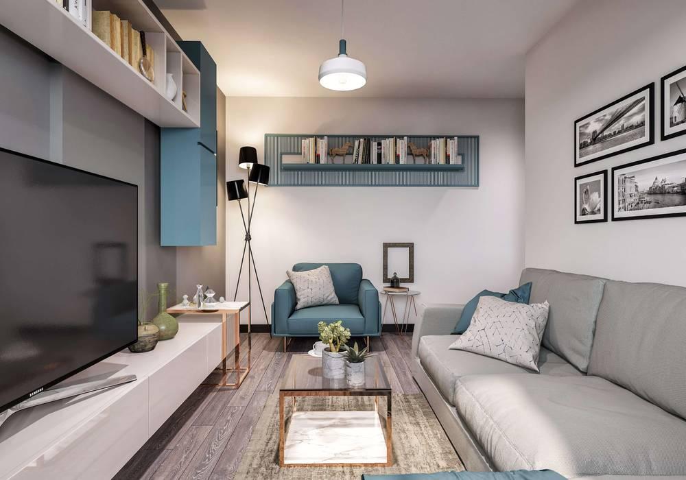 ANTE MİMARLIK  –  Oturma odası aksesuarları: modern tarz , Modern