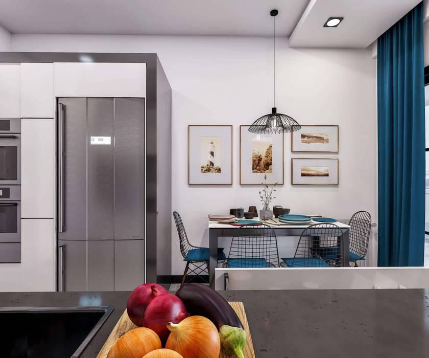 ANTE MİMARLIK  – Mutfak tasarımı: modern tarz , Modern
