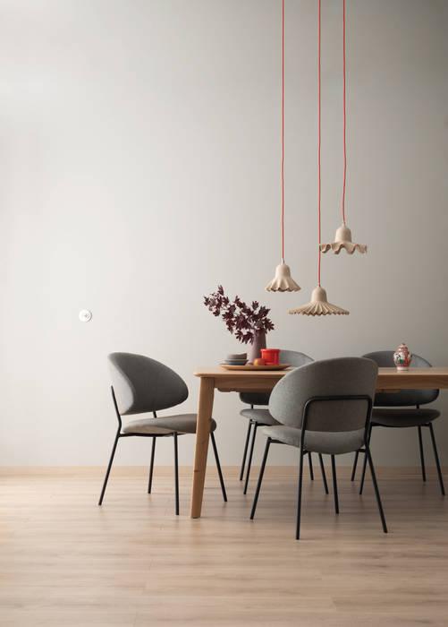 Designfarbe ästhetisches betongrau moderne esszimmer von ...