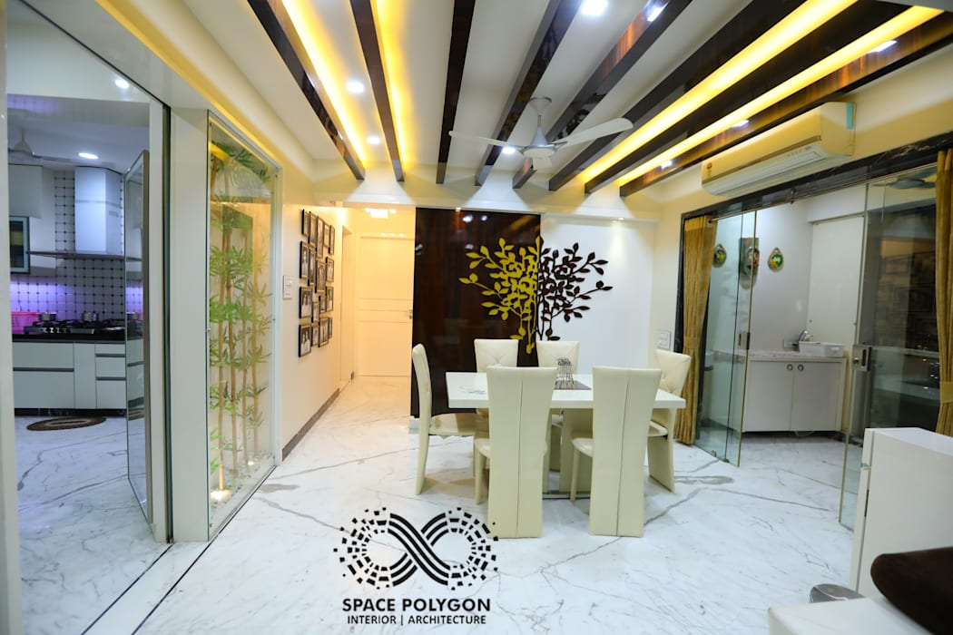 Dining Room Modern Dining Room by Space Polygon Modern