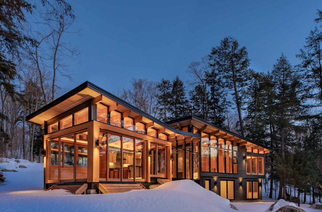 Contemporary Cottages in Ontario Modern houses by Trevor McIvor Architect Inc Modern