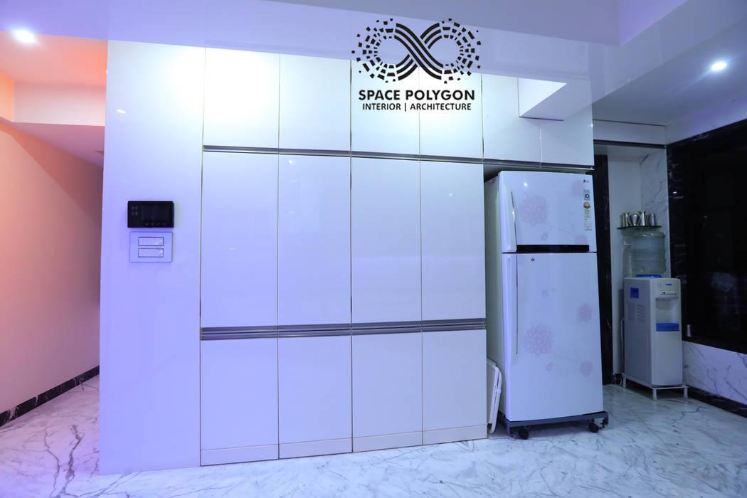 Kitchen Modern kitchen by Space Polygon Modern