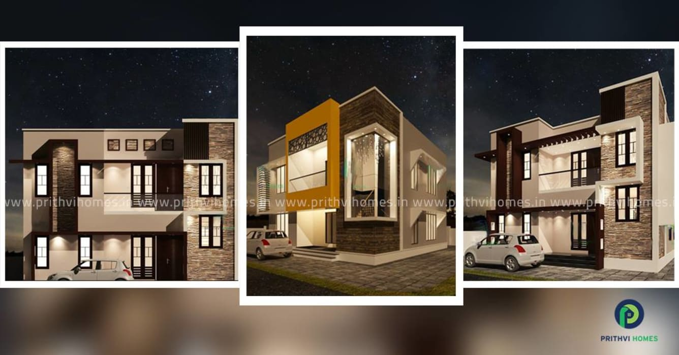 construction company in thrissur by Prithvi Homes Asian